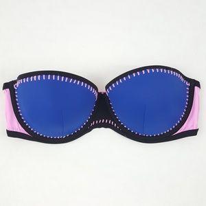 Victoria's Secret Strapless Flirt Bandeau Swim Top